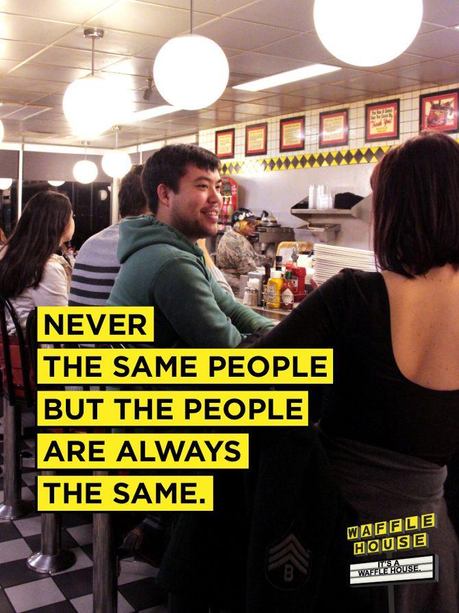 Waffle House - Sarah E Turner | Advertising & Copywriting ...