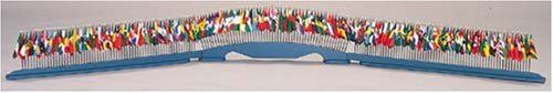 "All United Nations Members - UN Member Set BASE by flagline. $130.00. 4"" x 6"" Stick Flag BASE ONLY. Blue Wooden Base that holds the UN Set of 4""x6"" stick flags. It comes in three pieces with a total length of 140"", and a Height of 5"". 190 holes. This is for the base ONLY; stick flag set sold separately. Save 21% Off!"