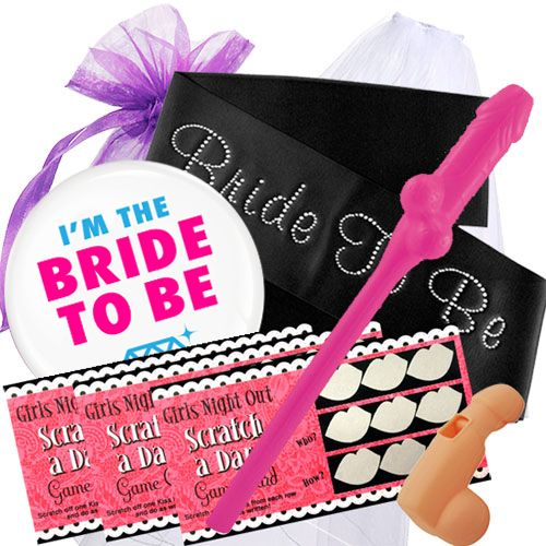Bride To Be Hens Party Pack with Sash