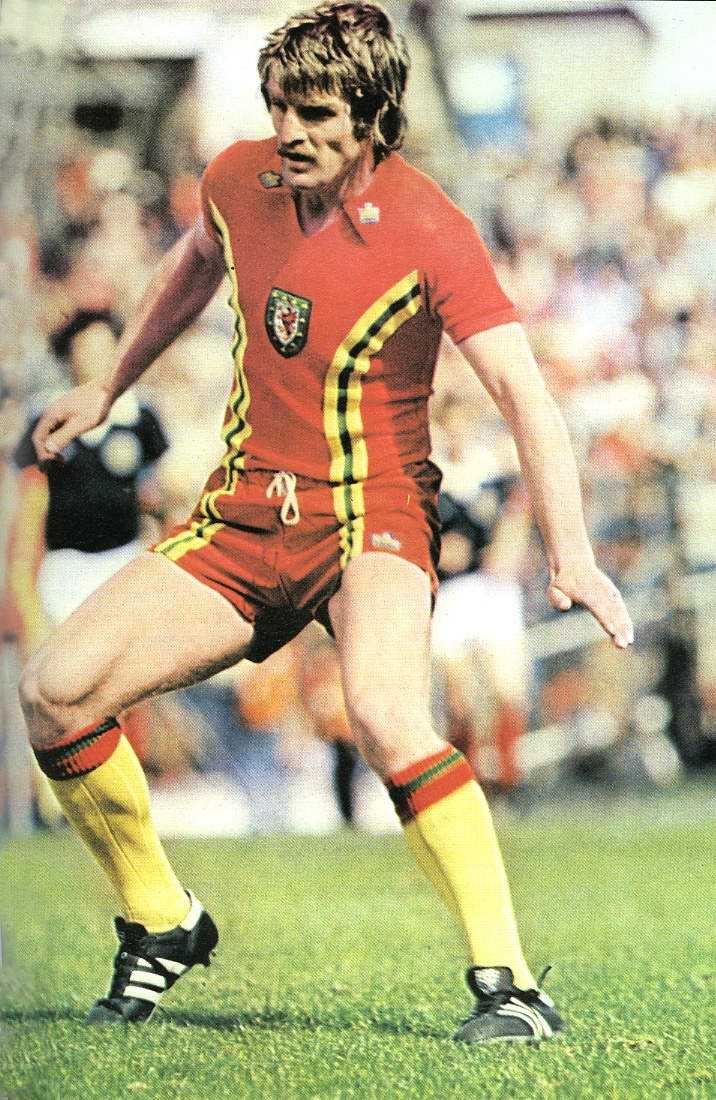 Welsh football kit from Admiral. Late 1970s. Love it. #vintage