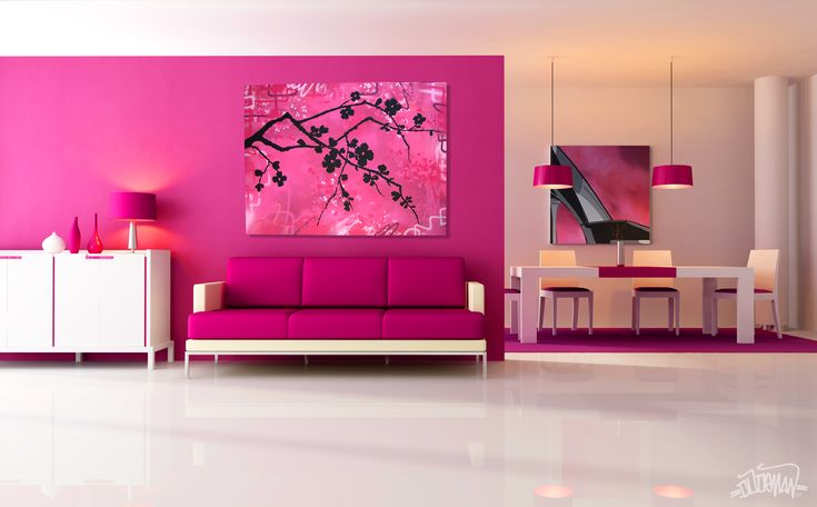 23 best Take one pink sofa.... images on Pinterest | Living room ...