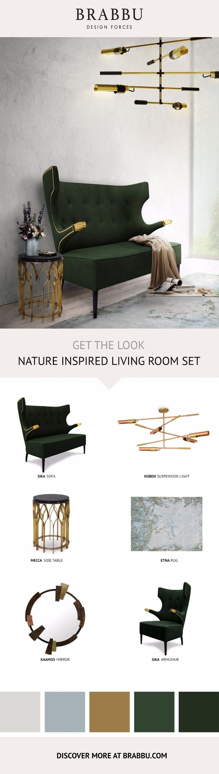 Get The Look: How To Design A Stylish Living Room Set | Modern Sofas #modernsofas #interiordesign #livingroom Read more: http://modernsofas.eu/2017/04/26/look-design-stylish-living-room-set/