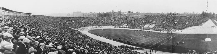 1923 Rose Bowl - USC Trojans vs Penn State Nittany Lions, Southern California defeated Penn State, 14-3
