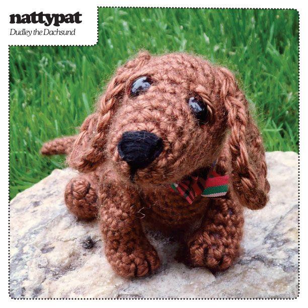 Dog Paw Knitting Pattern : Un perrito de orejas largas. Amigurimi. DIY Amigurimis ...