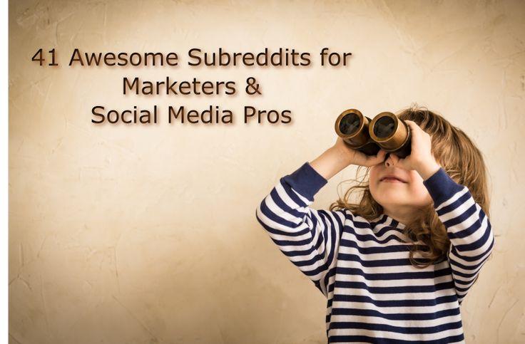 http://www.raultiru.com/subreddits-marketers-social-media