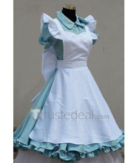 Gintama Kagura Alice Version Cosplay Dress Maid Uniform
