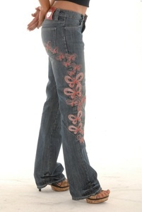 Sartso Ladies Butterfly Kevlar Motorcycle Jeans $149.00