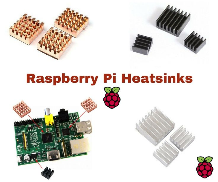 You should use passive aluminium heatsink for your #raspberrypi. For overclocking the raspberry pi, #heatsink will be needed for cooling.  http://www.bestoninternet.com/compute/electronics/best-raspberry-pi-heatsink/