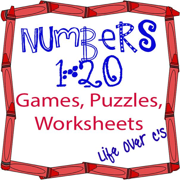 52 best learning center for my babies images on pinterest learning numbers 1 20 math centers games and printables fandeluxe Choice Image