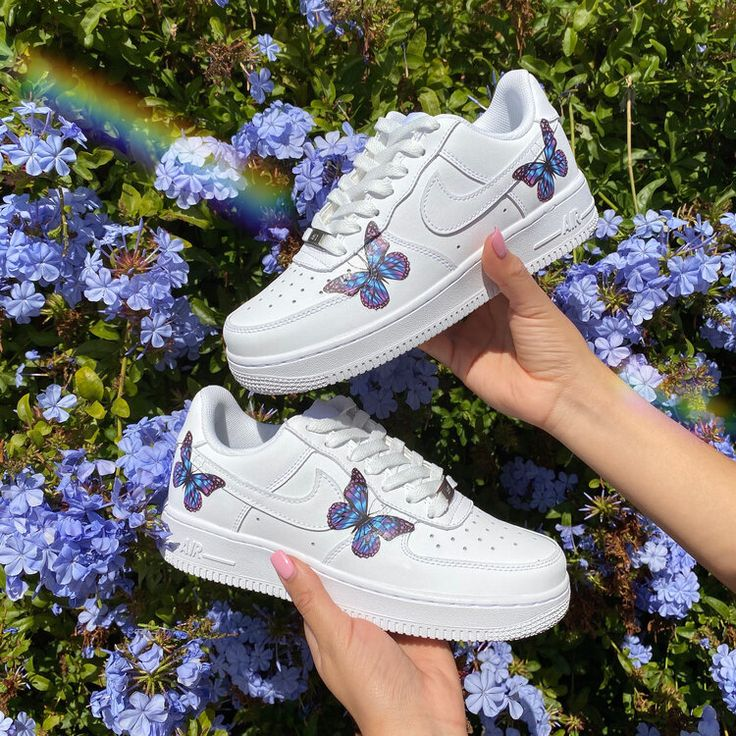 Butterfly anime airforce butterfly shoes nike shoes air