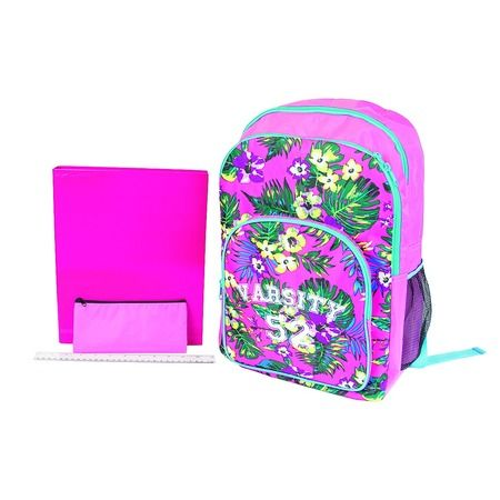 CC's 3rd & 4th Choice $12 CLEARANCE B52 Backpack Varsity Junior Set 4 Piece Pink One Size