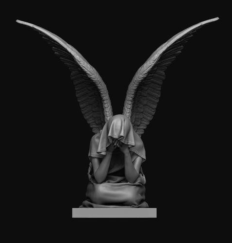 Angel Statue 6 | 3D Print Model