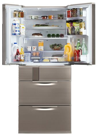 With advanced food storage technology the EX655 by Mitsubishi Electric ensures your food is fresher for longer http://mitsubishi-electric.co.nz/refrigeration/product.aspx?item=139207