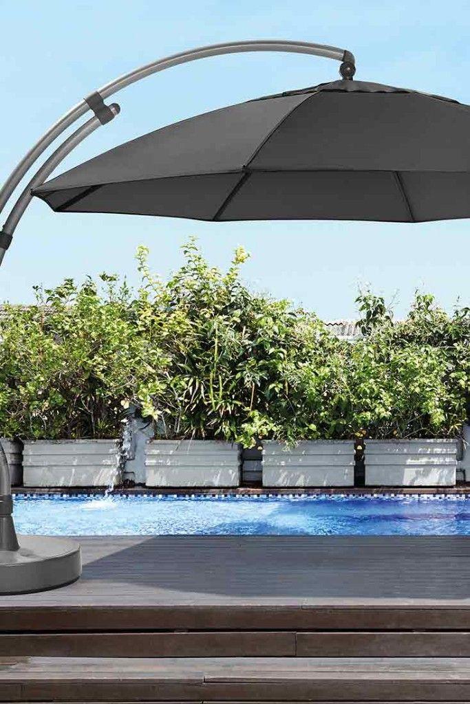 Ampelschirm Sun Garden sun garden easy sun ampelschirm Ø375cm aluminium | sonnenschirme