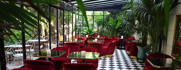 Ding ! Dong ! Tout en haut de la butte Montmartre, derrière une grande porte en fer forgée, un jardin d'hiver vient de s'installer dans l'Hôtel Très Particulier. Un maître d'hôtel vous attend pour vous ouvrir la porte. Vite, faufilez vous.