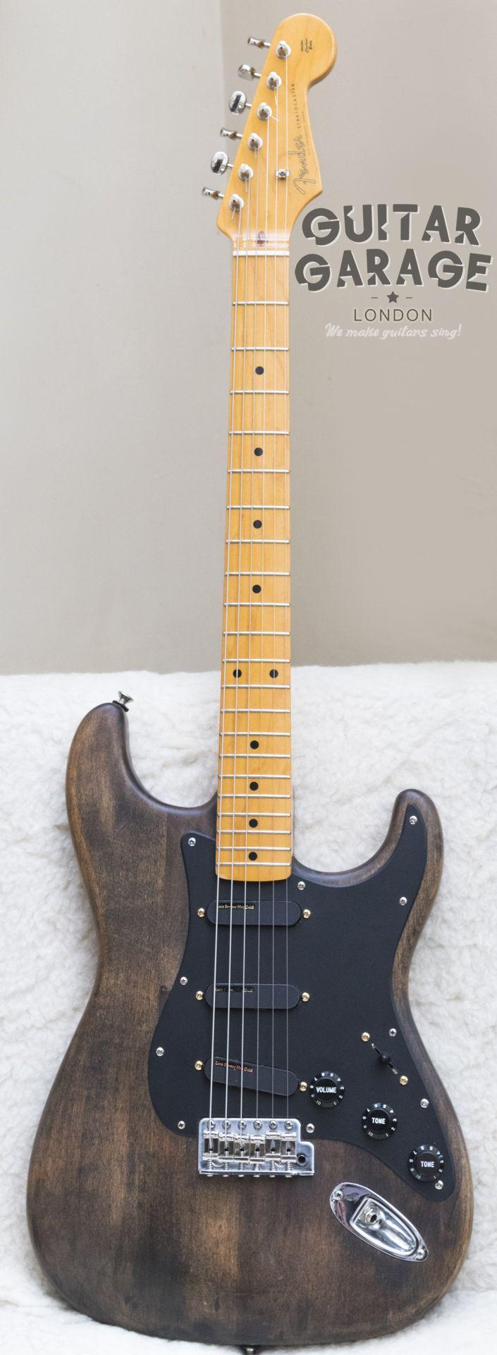 2002 Fender Japan '57 Vintage Reissue Stratocaster with Lace Sensors Hot Gold pickup set