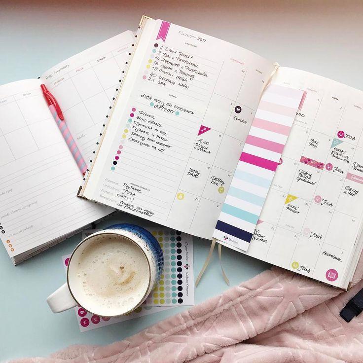 Miłego dnia wszystkim  #happyplanner2017 #bodyplanner #happybodyplanner #coffee #planowanie #planner #plannermadamy #naklejki #plannerstickers #letsdoit