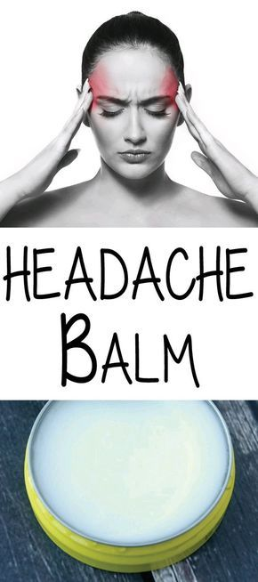 This Headache Balm is really easy to make and has three essential oils that I find help my headaches. If it's a really bad headache,