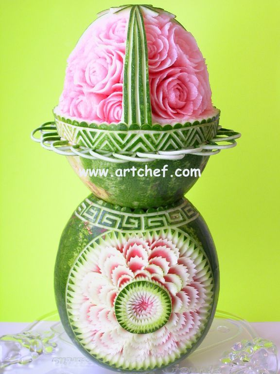 http://www.artchef.com/ArtChefGallery/MelonCarving/index.html