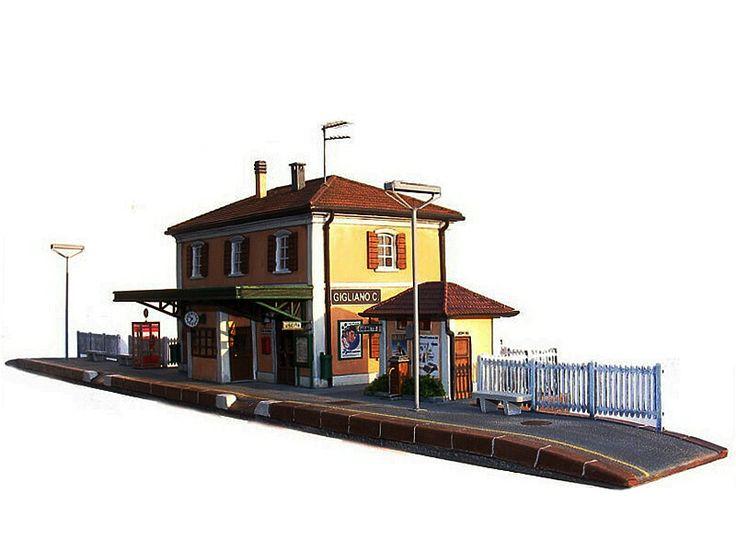 Modello di stazione ferroviaria italiana, Gigliano C.