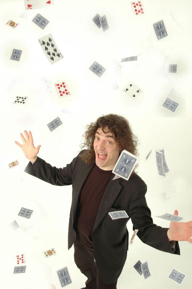 Jerry Sadowitz: Card Tricks and Close Up Magic http://www.glasgowcomedyfestival.com/shows/947