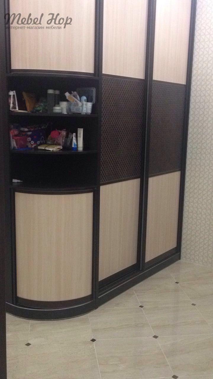 Радиусный шкаф на заказ по индивидуальным размерам. #радиусныйшкаф #радиусныйшкафкупе #шкафрадион #шкаф #шкафкупе #мебель #мебельназаказ #мебельподзаказ #мебельвмоскве #мебельвовладимире #владимир #москва #скидки #скидкинамебель #sale #mebelhop #купитьмебель #магазинмебели