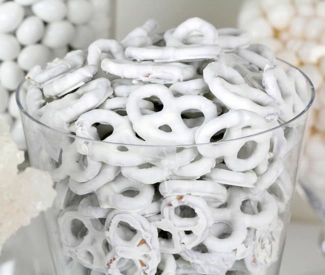 White Yogurt Covered Pretzels, THE BEST snack there is