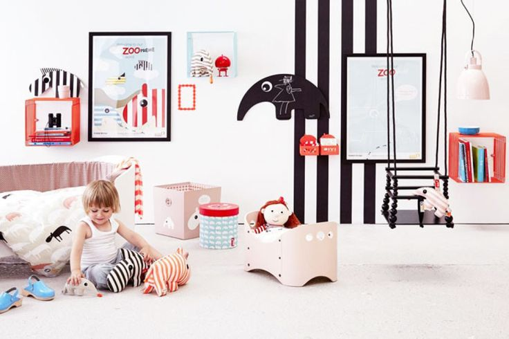 Baby kamer interieur u stockfoto belchonock
