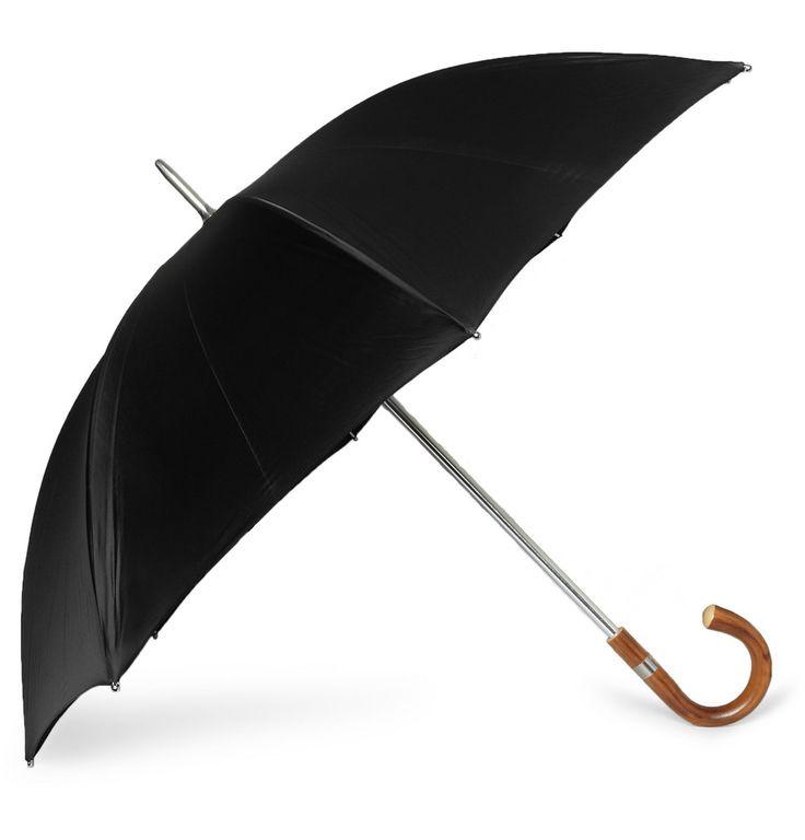 Swaine Adeney Brigg - Wooden Handle Umbrella|MR PORTER