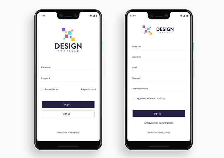 Sign Up Page Image By Kumar On Login Screen Ideas In 2020 Login
