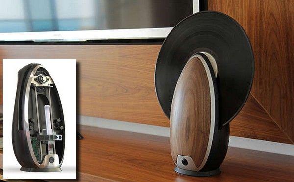 TOC: un lecteur vinyle design et vertical, juil. 2015