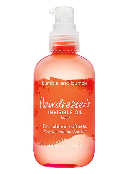 BUMBLE AND BUMBLE HAIRDRESSER'S INVISIBLE OIL    By the end of summer, my hair is so fried that it would take all the deep conditioner in Sephora to make it look healthy again. Unfortunately, heavy treatments tend to weigh down my fine hair. The solution: this super-lightweight oil. It kills frizz, adds moisturize and boosts shine. Plus, like all my favorite hair products, it smells incredible.