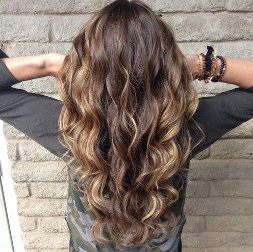 hair colors hair cuts for long hair