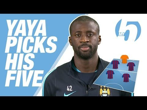 Yaya Toure Picks Fantasy 5-a-Side Team, Names 4 Barca and 0 Man City Players | Bleacher Report