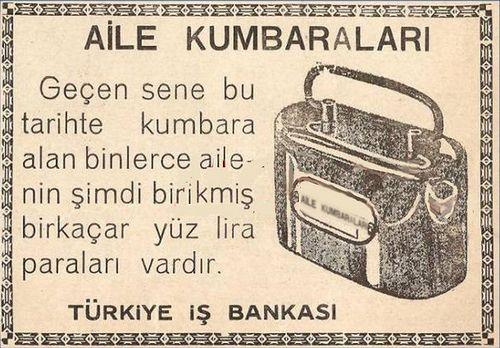 https://flic.kr/p/7giWHj | IS BANKASI KUMBARA REKLAMI -1934