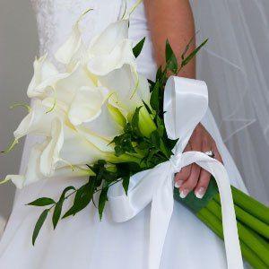 Ramo de novia lirios