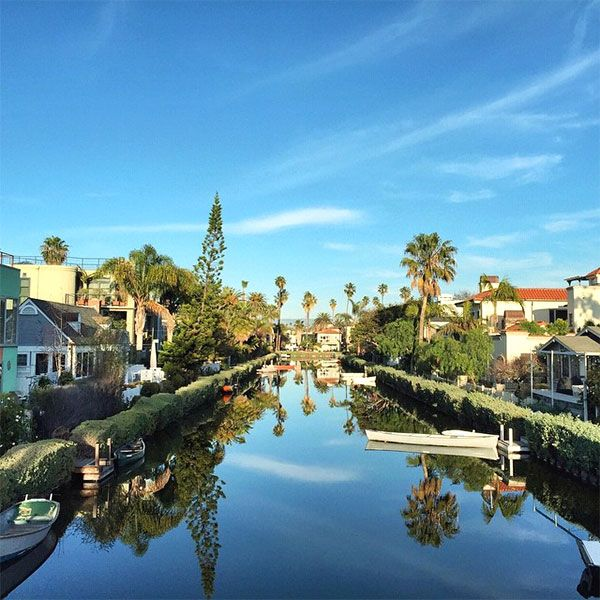Venice Canal Historic District  Listen, George and Amal might not have floated down our version of the Venice canals, but we happen to be pretty fond of it anyway — and, we have Mr. Abbot Kinney to thank for it. Venice Canal Historic District, Carroll Court (at Eastern Canal Court); no phone.