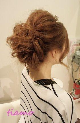 「CUTEな花嫁さまのカールスタイル♡海外挙式リハ編♡」の画像|大人可愛いブライダルヘアメイク『tia… |Ameba (アメーバ)