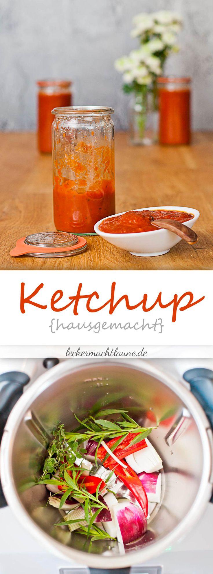 Würziges, hausgemachtes Ketchup. Einfach gemacht, mit und ohne Thermomix®.
