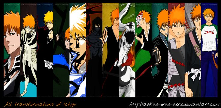 All Transformations of Ichigo