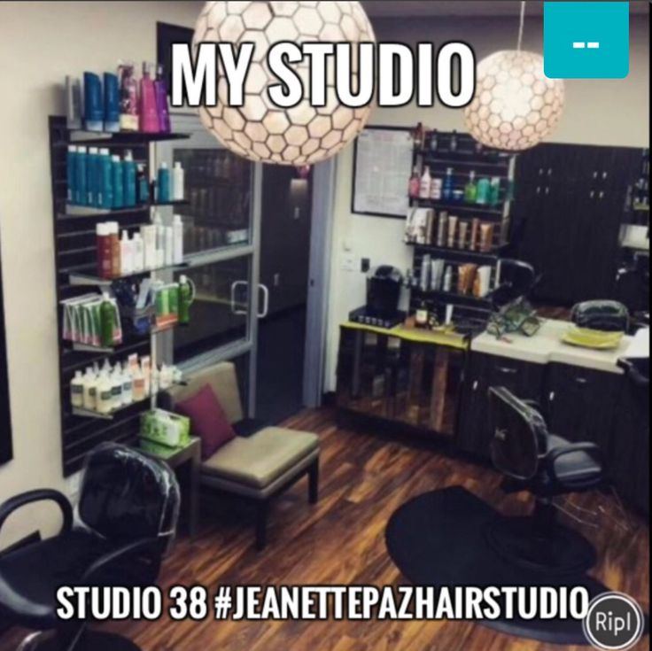 This is where I come to make my clients beautiful.