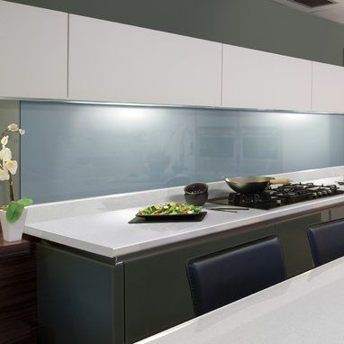 Axiom By Formica Paloma White Gloss Laminate Kitchen