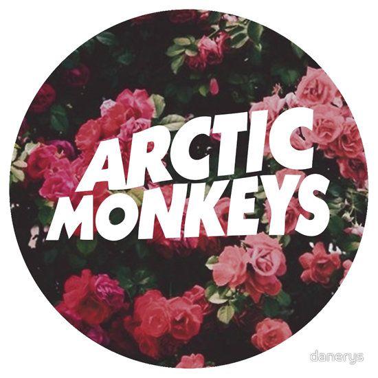 Arctic Monkeys floral logo by danerys. Always love floral