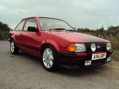 1983 FORD ESCORT RS 1600 I RED STUNNING CAR - http://www.fordrscarsforsale.com/4260