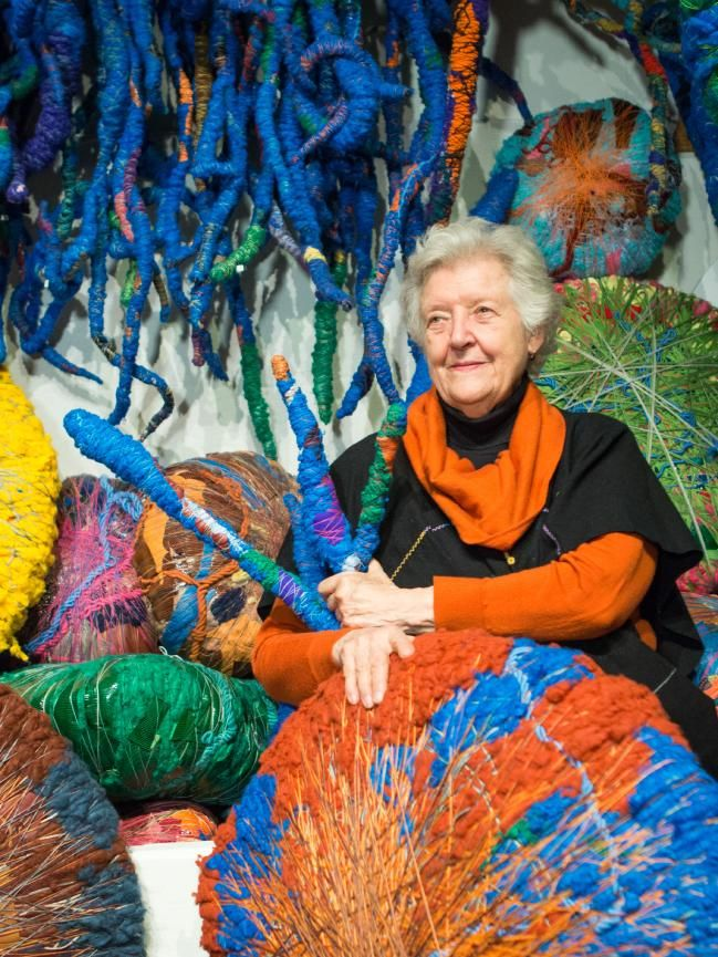 Sheila Hicks is a yarn spinner, a textile artist who for more than five decades has straddled the disciplines of architecture, design and art. She has a masters in fine art from Yale University and a 42-page curriculum vitae boasting group and solo shows staged in cities across the world.
