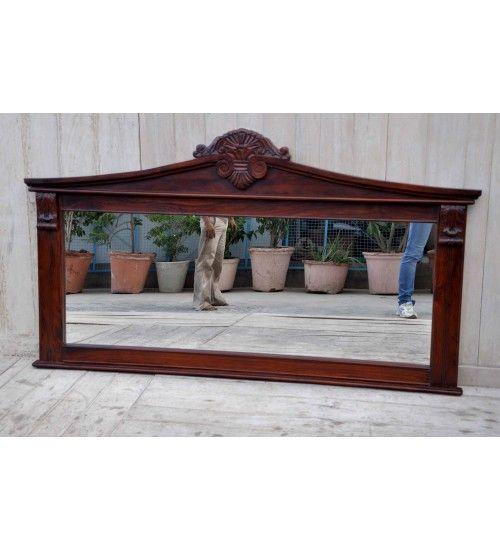 Indyjskie drewniane #lustro wyprodukowano w Indiach Model: HM-111 Kupuj online w: http://goo.gl/LBeVao