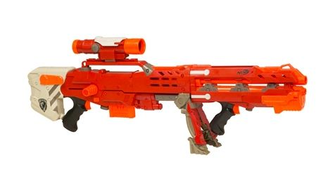 Extremely rare limited edition Nerf Longshot CS-6