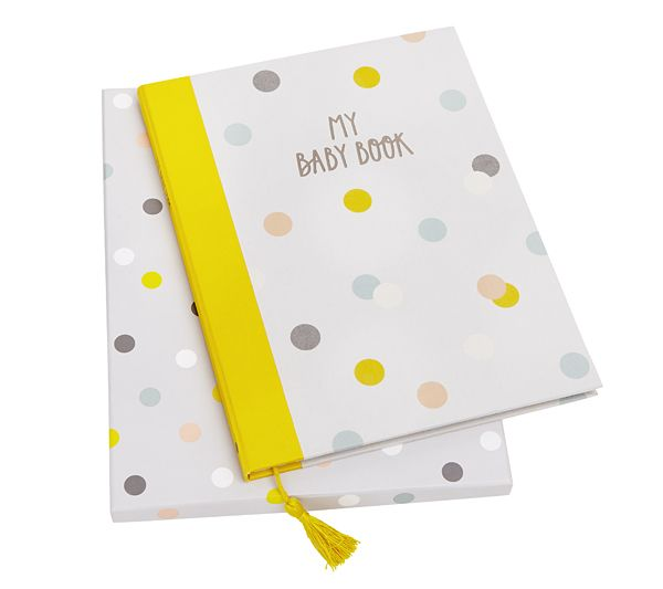 Record special memories and photos to treasure forever with our Baby Book #baby #shower #gifts #stationery #ideas #kikkiK