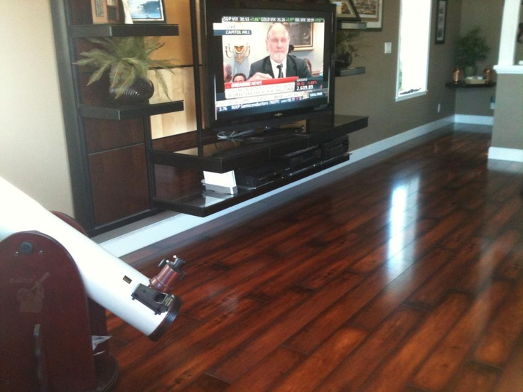 Laminate Flooring Call Vintners Reserve. How Appropriate!