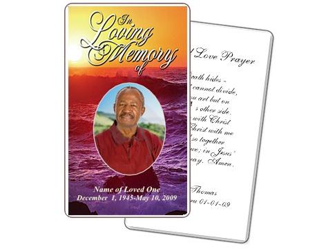 memorial card templates - Akbagreenw